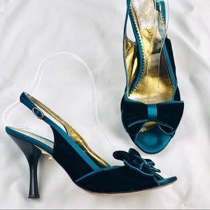 BCBG MaxAzaria Velvet Heels